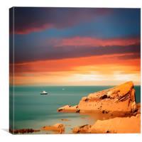 Across the sea, Canvas Print