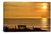 Take a Seat at Croyde, Canvas Print