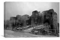 Goodrich Castle, Canvas Print