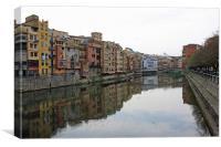 Girona, Canvas Print