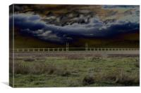 Severn Crossing II, Canvas Print