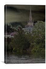 St Marys church, Canvas Print