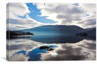 Reflections on Loch Lomond, Canvas Print
