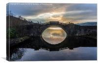 Garron Bridge, Inverary, Argyll, Canvas Print