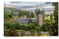 Benmore Centre, Dunoon, Canvas Print