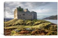 Tioram Castle, Canvas Print