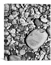 Pebbles, Canvas Print