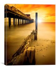 New~Dawn  Southwold, Canvas Print