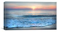 Sea of Serenity, Canvas Print