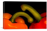 Peppers, Canvas Print