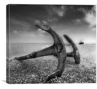 Aldeburgh Anchors, Canvas Print