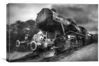Steam Train, Canvas Print