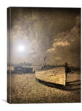 Suffolk Fishing Boat, Canvas Print