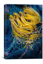 Fishing Nets, Canvas Print