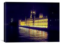 Houses of Parliment after dark