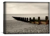 Sussex Beach, Canvas Print