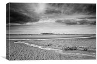 Deserted Holkham Beach, Canvas Print