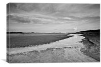 Time for Reflection in Holkham, Canvas Print