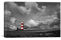 Happisburgh Lighthouse Selective Colour