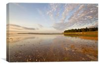 High Tide at Holkham, Canvas Print
