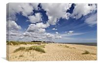 British Beaches are the Best, Canvas Print