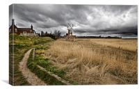 Path to Cley, Canvas Print