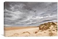 Holkham Skies, Canvas Print