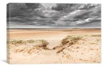Vast Sands of Holkham, Canvas Print