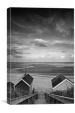 Stairway to Heaven Mono, Canvas Print