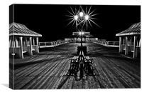 Cromer Pier by Night Mono