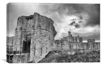 Warkworth Castle, Canvas Print