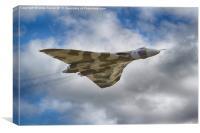 Avro Vulcan - XH558, Canvas Print