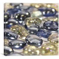 Glass Marbles, Canvas Print