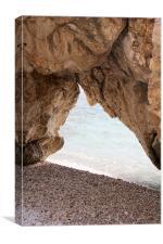 Mlini Beach, Canvas Print