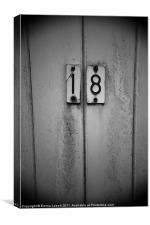 Door Number 18, Canvas Print
