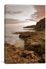 Seacombe Bay, Canvas Print