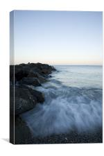 Levanto Beach, Liguria, Italy, Canvas Print