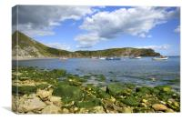 Lulworth Cove, Dorset, England, Canvas Print
