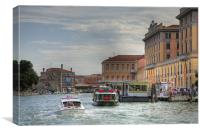 Venice, Italy., Canvas Print