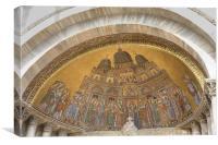 Saint Markos basilica, Venice, Italy., Canvas Print