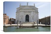 Redentore Church in Venice, Italy., Canvas Print
