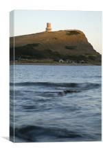 Kimmeridge bay in Dorset, Canvas Print