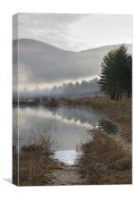 Palsko Lake, Pivka lakes, Slovenia, Canvas Print