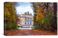 Gloriette in Schonbrunn park, Canvas Print