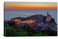 Piran, Canvas Print