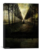 Deaths walk, Canvas Print