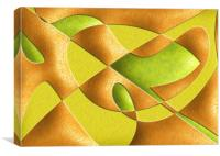 FRUIT ABSTRACT, Canvas Print