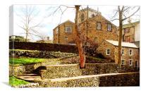 Skipton Castle, Canvas Print