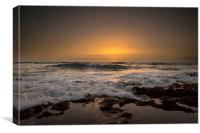 TENERIFE GOLDEN SUNSET, Canvas Print