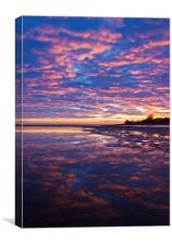SOLWAY SUNSET, Canvas Print